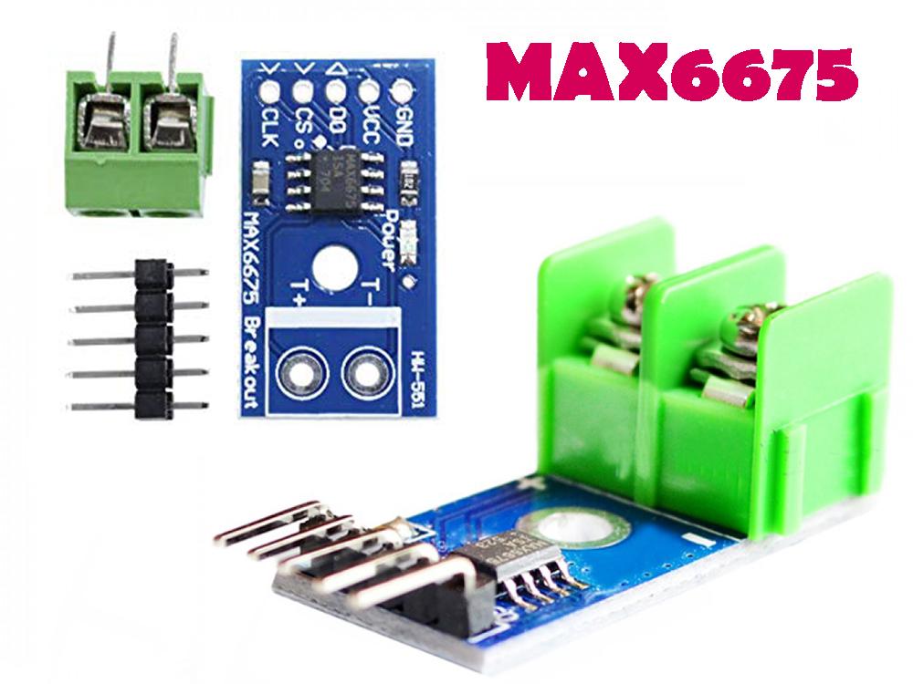 K Type Thermocouple  Max6675  U0026 Arduino Based Temperature