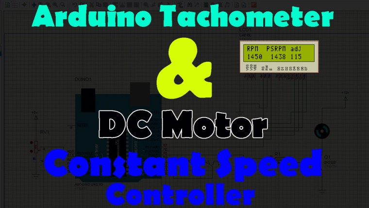 Arduino RPM Counter