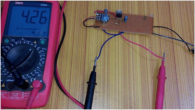 lm317 voltage regulator, lm317t adjustable voltage regulator variable power supply, pinouts, circuit diagram image