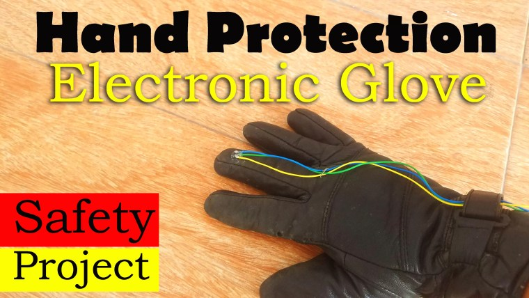Hand Protection Electronic Gloves