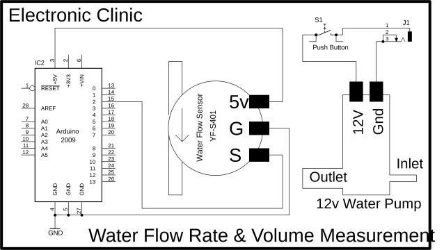 Water Flow Sensor Arduino