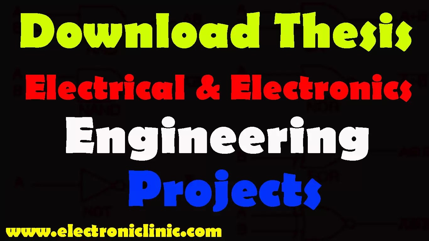Phd thesis electrical power engineering