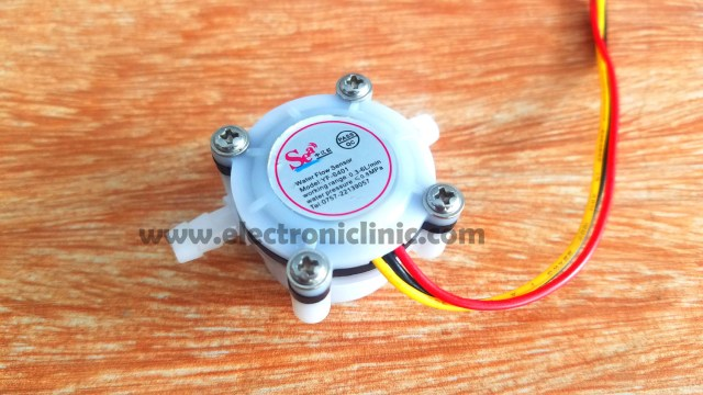 Water Flow Sensor Arduino