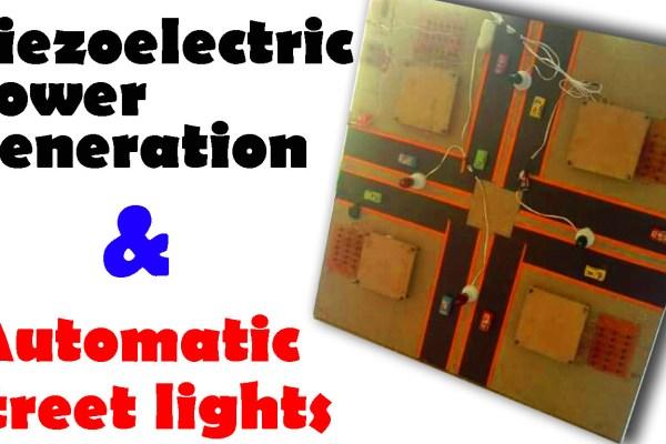 Piezoelectric Power Generation