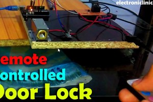 Remote Controlled Door Lock