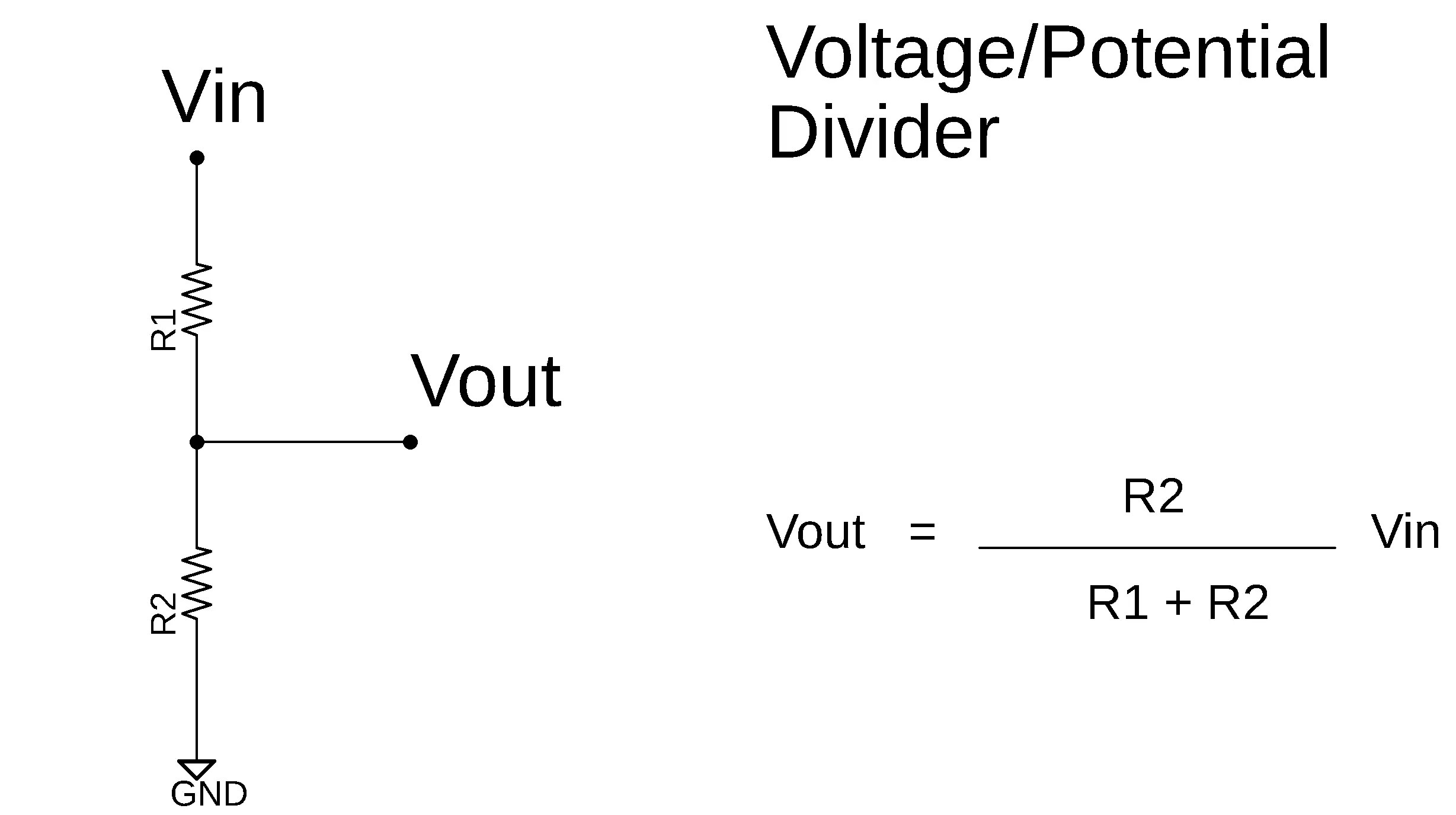 What is a Voltage Divider or Potential Divider, Formula and ...