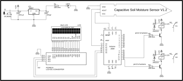 Capacitive Soil Moisture Sensor