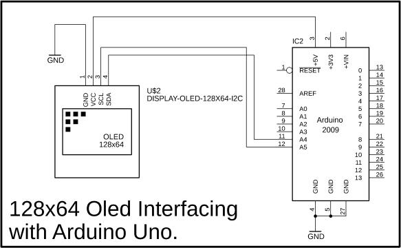 Arduino Oled i2c Display