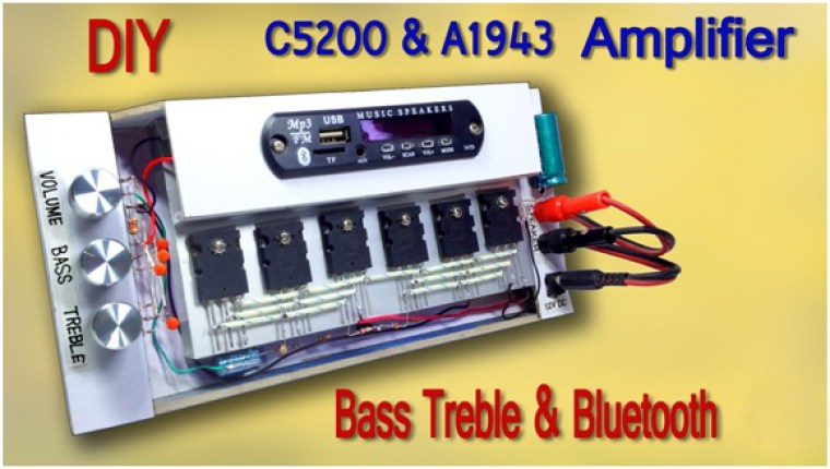 C5200 and A1943 amplifier