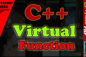 virtual function in C++
