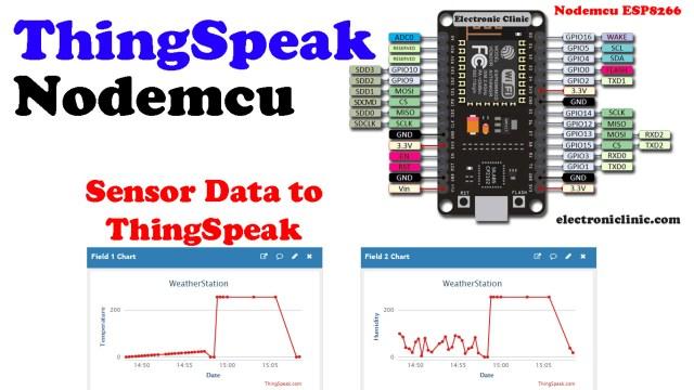 ThingSpeak Nodemcu ESP8266