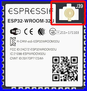 ESP32 WROOM 32D