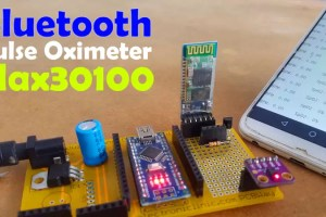 Bluetooth Pulse Oximeter Max30100