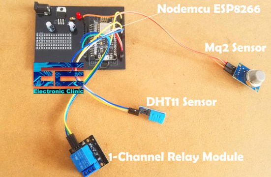 Nodemcu ESP8266 DHT11