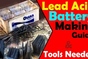 how to make Lead Acid Battery