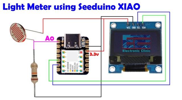 Seeeduino Xiao and I2C