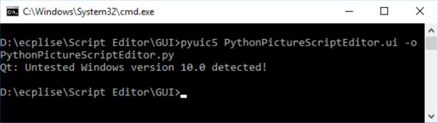 Python Qt