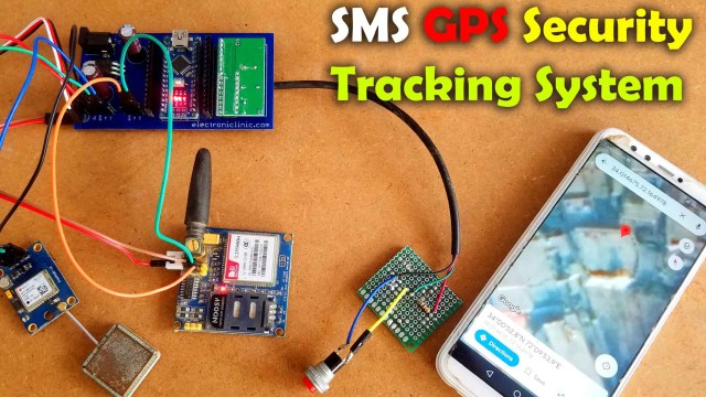 SMS GPS Security Tracking