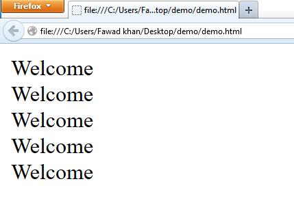 JavaScript for loop