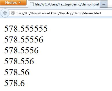 JavaScript built-in function