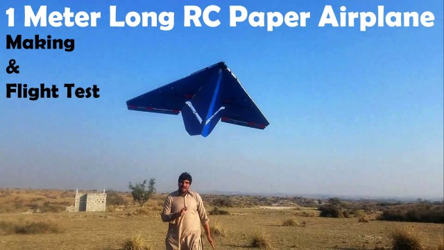 RC Paper Airplane