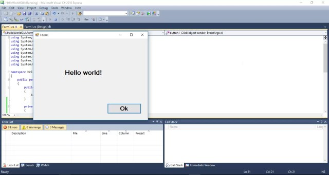 C# Windows Forms Application