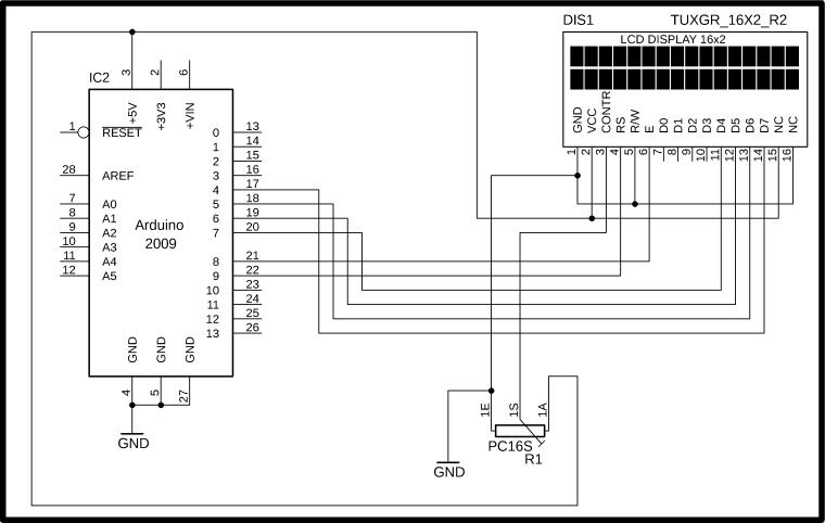 Arduino LCD AutoScroll