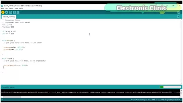 Arduino IDE Tutorial, how to write Your First Program, install libraries