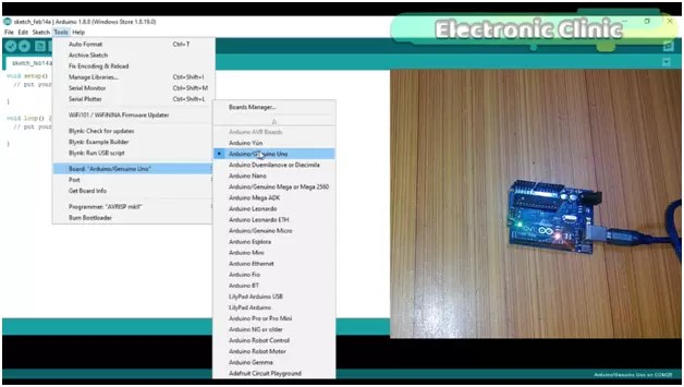 Arduino IDE Tutorial, how to write Your First Program
