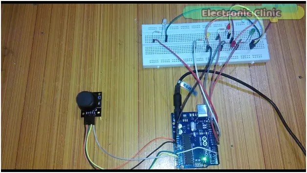 2-Axis Joystick Arduino Project, Joystick Button & Joystick