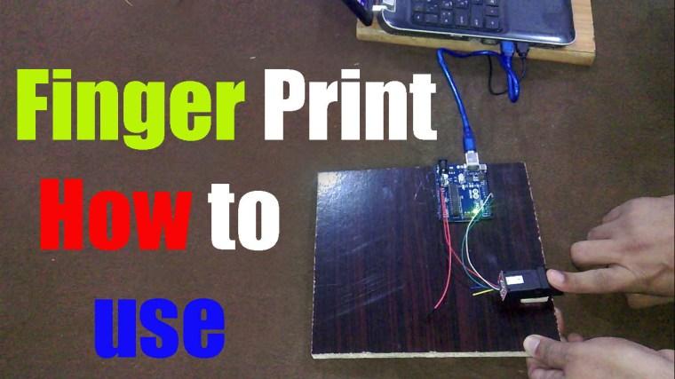 Arduino Biometric Fingerprint