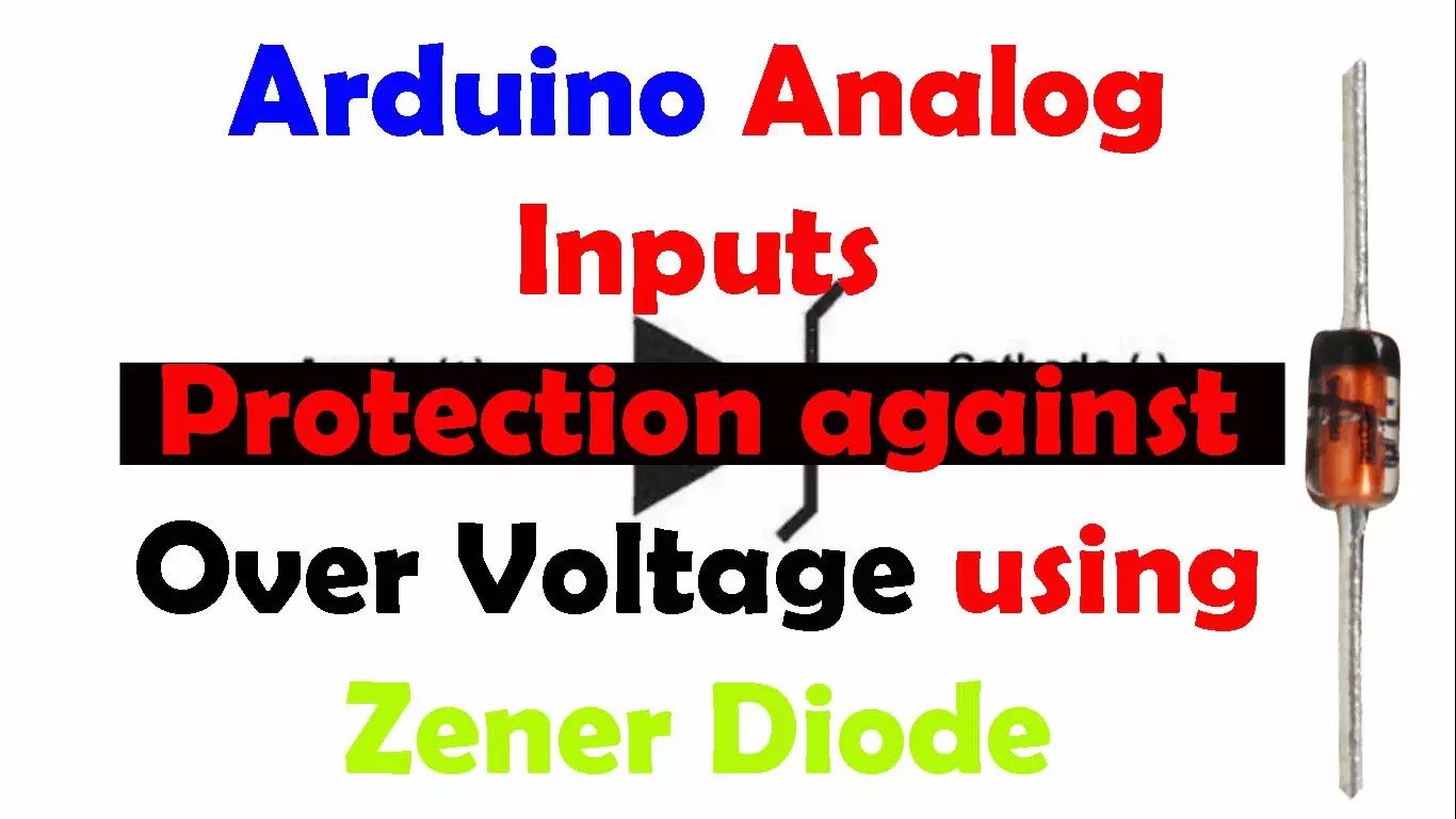 Input Overvoltage protection for Arduino Inputs using a