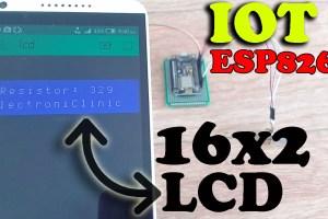 iot 16x2 LCD