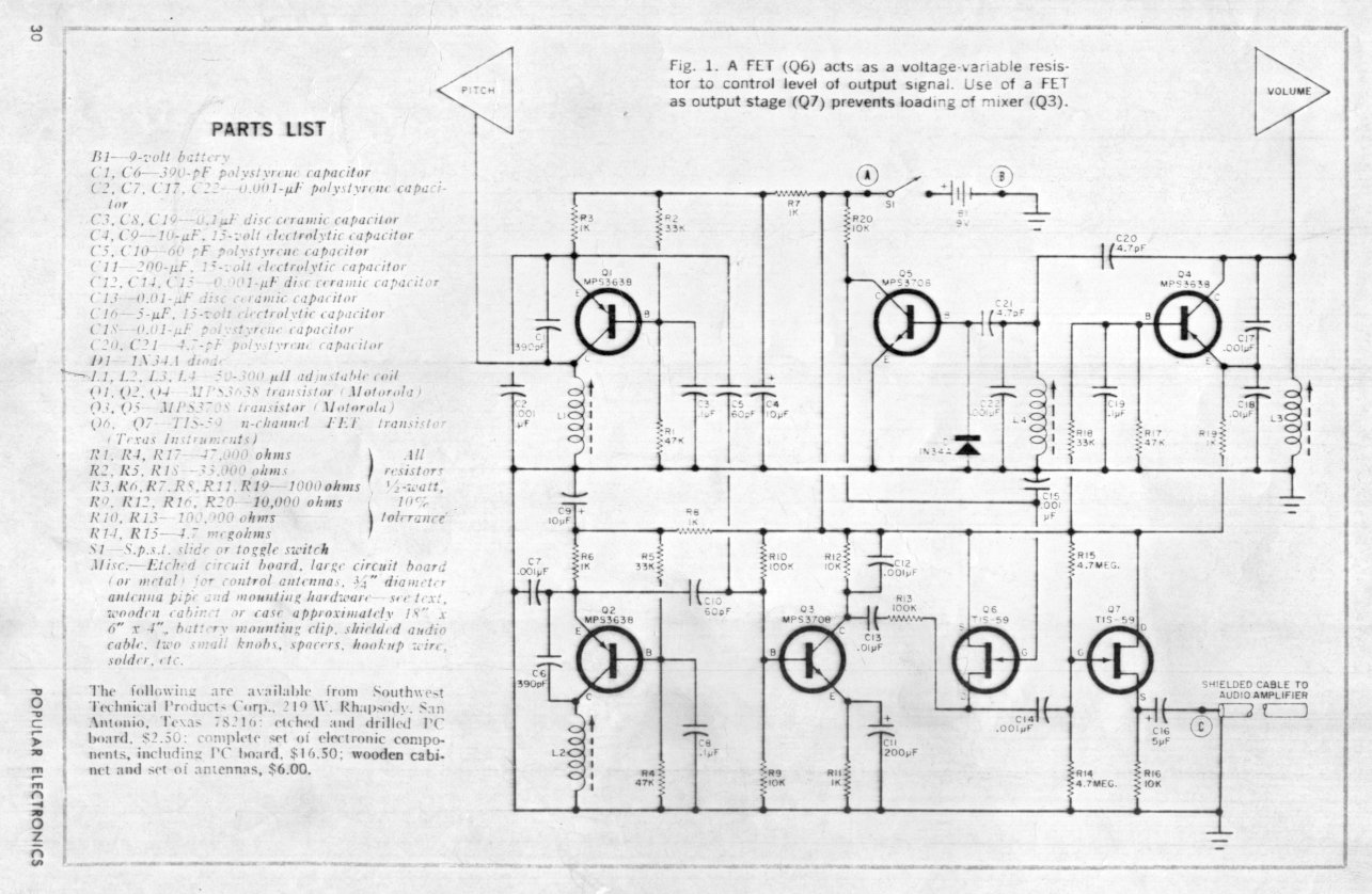The Electronic Peasant S Various Schematics Articles And
