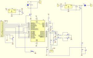 Voltmeter  Ammeter LCD panel  ElectronicsLab
