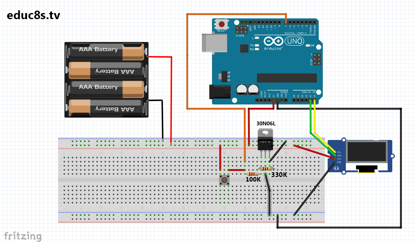 Automatic On Off Power Switch For Arduino Electronics Lab