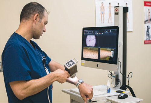 Use of AI in dermatology