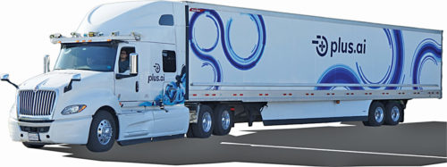Plus.ai's first commercial self-driving truck