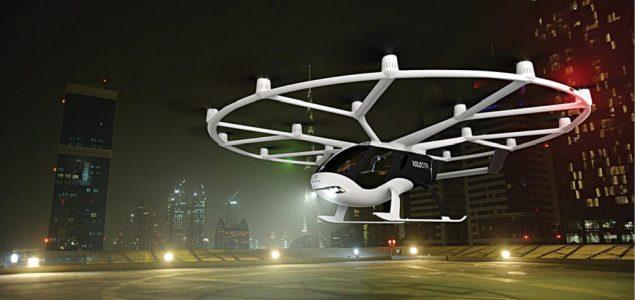 Volocopter hybrid drone