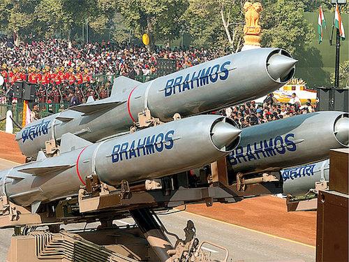 BrahMos missile (Credit: www.fresherslive.com)