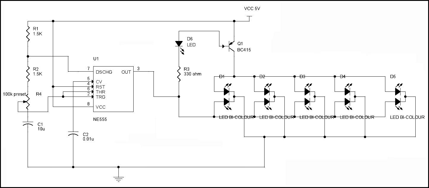 Wiring Potentiometer Op Amp Led Diagram