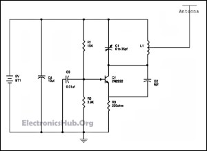 Simple FM Radio Jammer Circuit Working and Applications