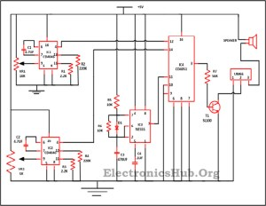 Audio Equalizer Circuit using Combinational Logic Circuits