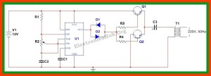 How To Make 12v DC to 220v AC ConverterInverter Circuit