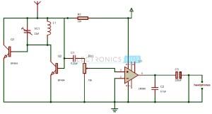 FM Radio Circuit | Tiny Single Chip FM Radio