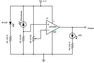 IR lichtsluis korte afstand  Forum  Circuits Online