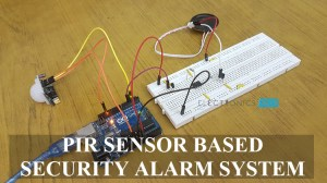 PIR Sensor based Security Alarm System using UM3561 IC