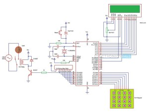 Password Based Circuit Breaker Project Circuit Working