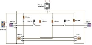 How To Make 12v DC to 220v AC ConverterInverter Circuit