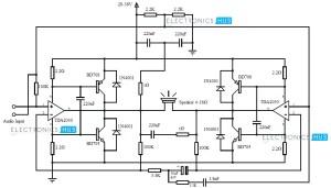 200 Watt Audio Amplifier Circuit Diagram  Circuit Diagram